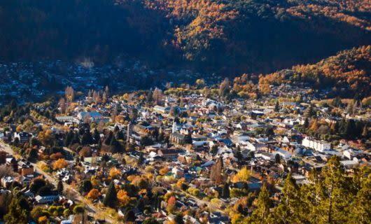 Town of San Martin de los Andes, Argentina