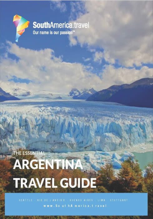 Argentina Travel Guide cover