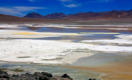 View across plains of Atacama Desert