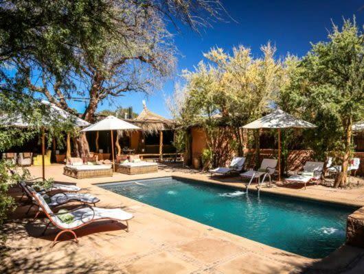 Awasi Atacama pool deck