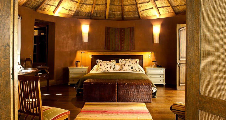 Bedroom of Awasi Atacama Lodge