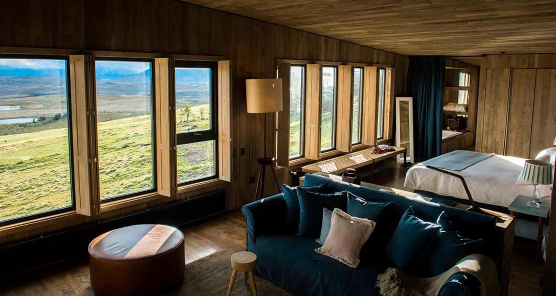 Suite of Awasi Patagonia Lodge