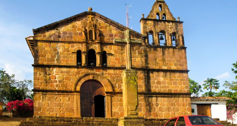 Church in Barichara, Colombia