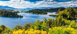 Bariloche Lake District in Argentina