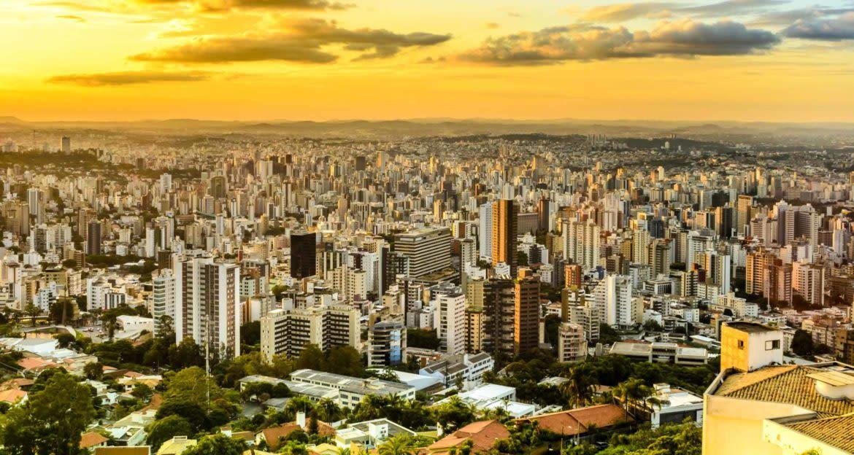 Aerial view of Belo Horizonte, Brazil