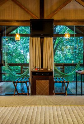 Amazon lodge room in Brazil