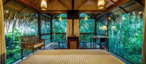 Amazon lodge room in Brazil