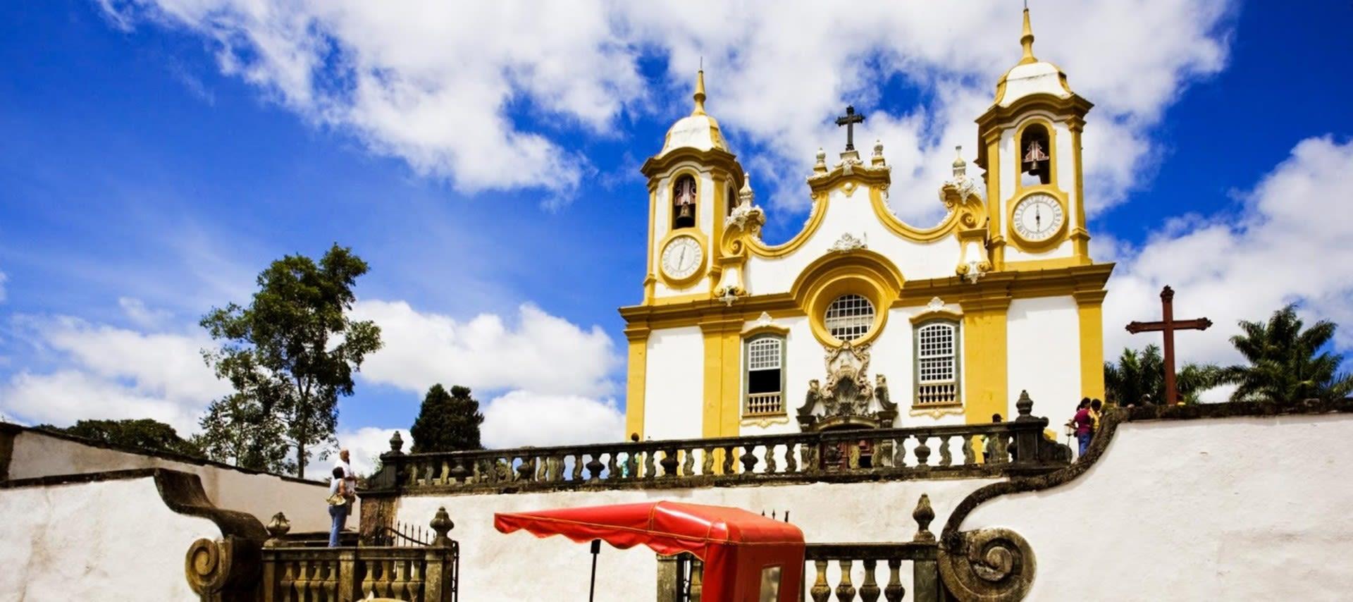 Large church in Brazil