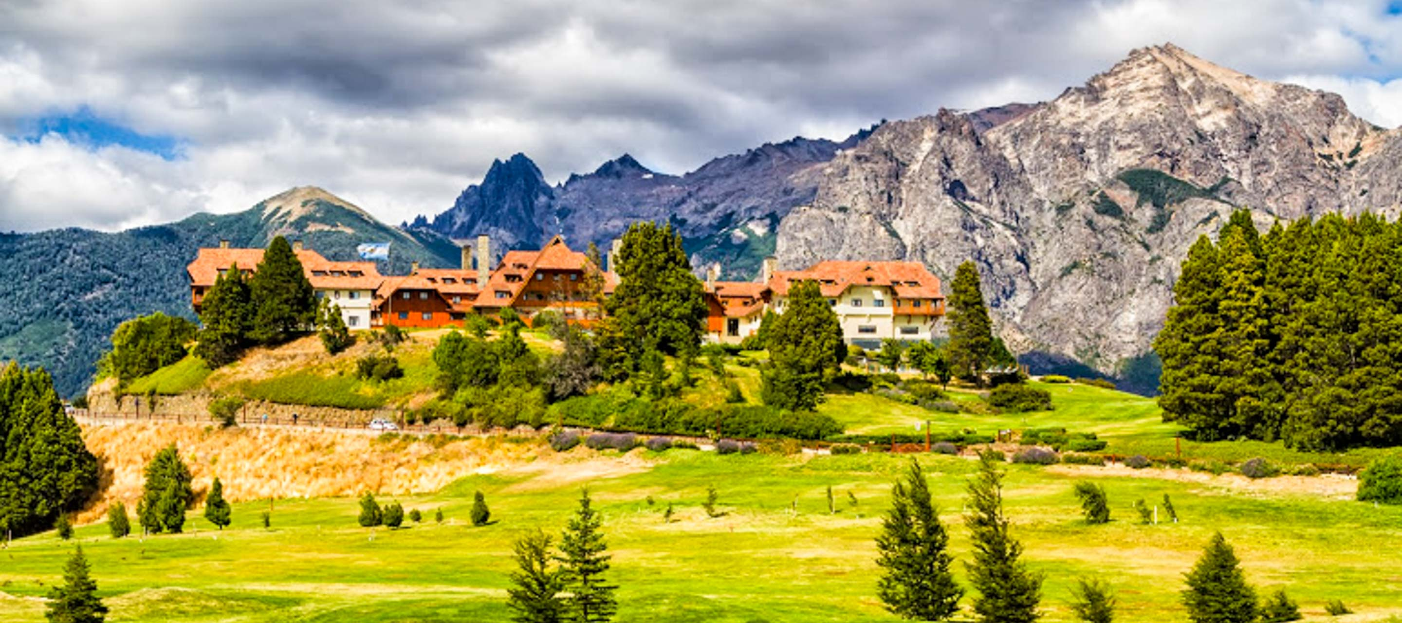 Golf course near mountains in Buenos Aires on south america Golf Tours