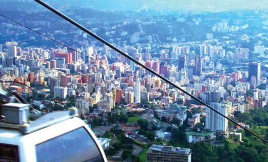 A cable car in Caracas Venezuela