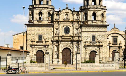 Church in Cajamarca, Peru