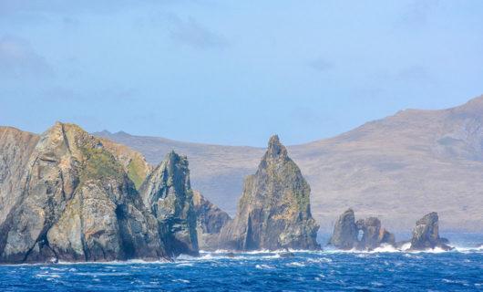 Cape Horn dramatic coastline