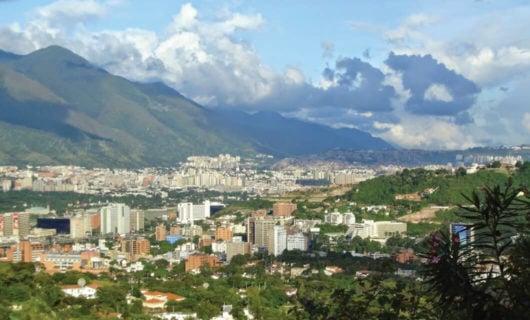 View of Carcas Venezuela