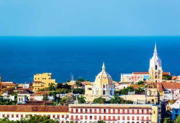 View over Cartagena, Columbia