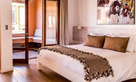 Bedroom at Casa Atacama