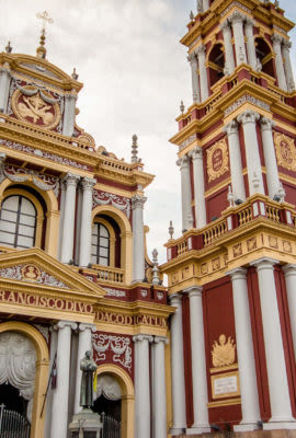 Cathedral in Salta Argentina