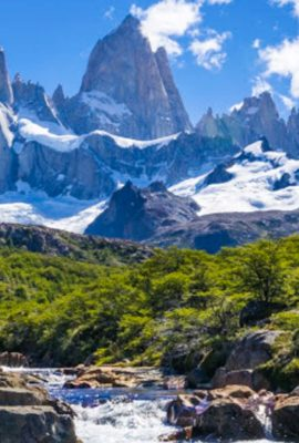 Mountain Fitz Roy in Argentina