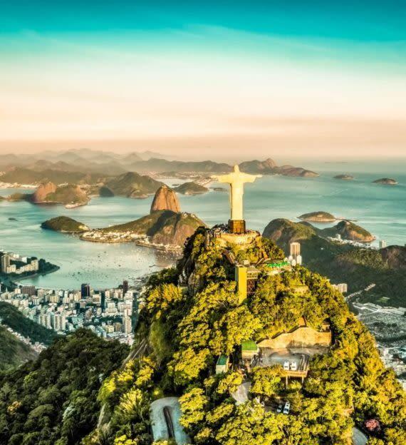 Christ the Redeemer overlooks Rio de Janeiro