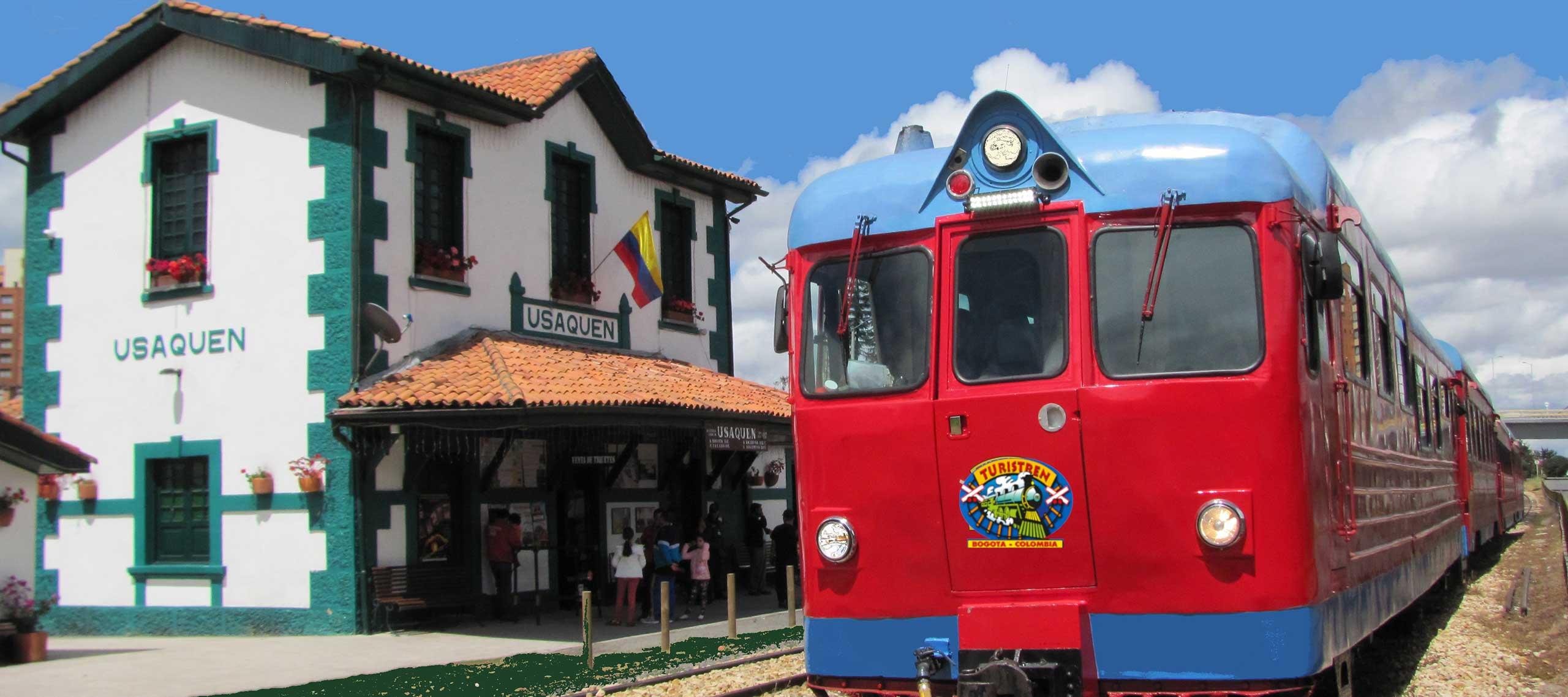 Train in Colombia