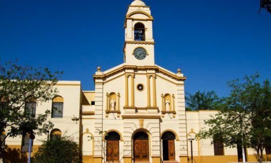 Church in Concepcion, Chile