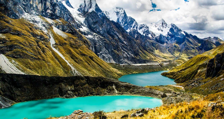 Cordillera lake in Peru