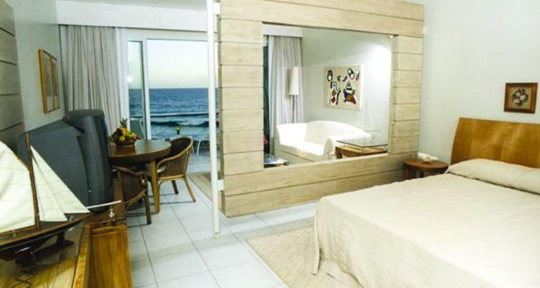Interior of bedroom at Costao Saninho Resort