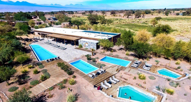 Aerial view of Cumbres Atacama Hotel & Spa