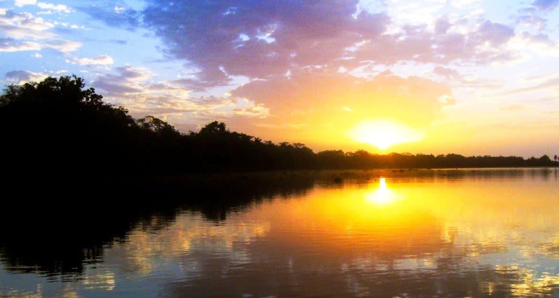 Sunset over the Delta del Orinoco
