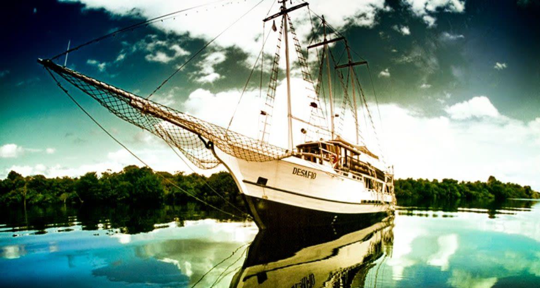 Front view of Desafio cruise ship