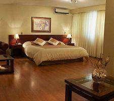 bedroom at hotel