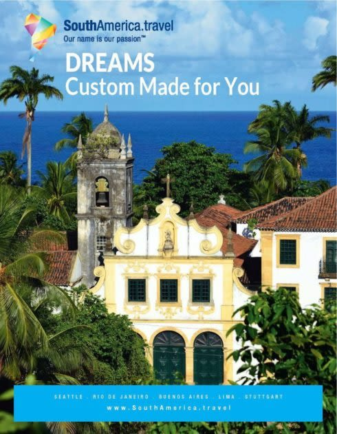 SouthAmerica.travel Dreams Brochure cover