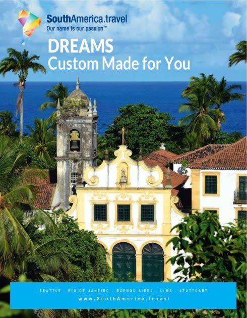 SouthAmerica.travel Dreams Brochure cover