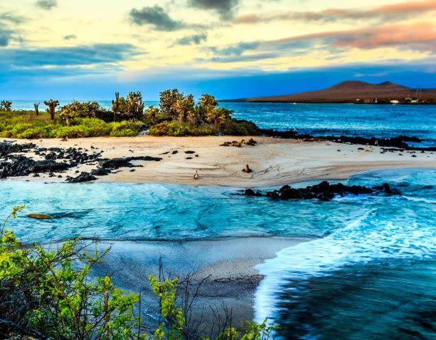 Ecuador island beach