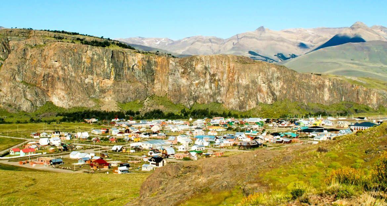View of El Chalten, Argentina