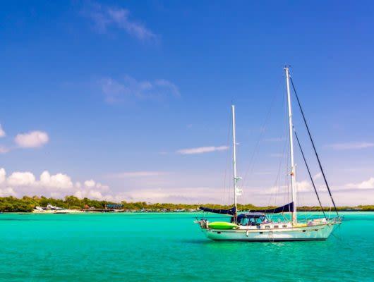 Sailboat on Galapagos Multisport Adventure Tour