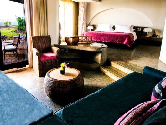 Hangaroa Eco Village bedroom