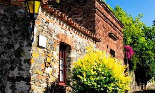 Buildings in historic quarter of Colonia del Sacramento, Uruguay