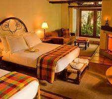 Bedroom at Inkaterra