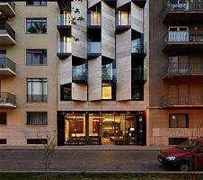 modern hotel outside