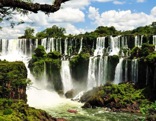 Iguazu Falls panorama