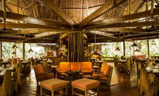 Inkaterra Reserva Amazonica lounge