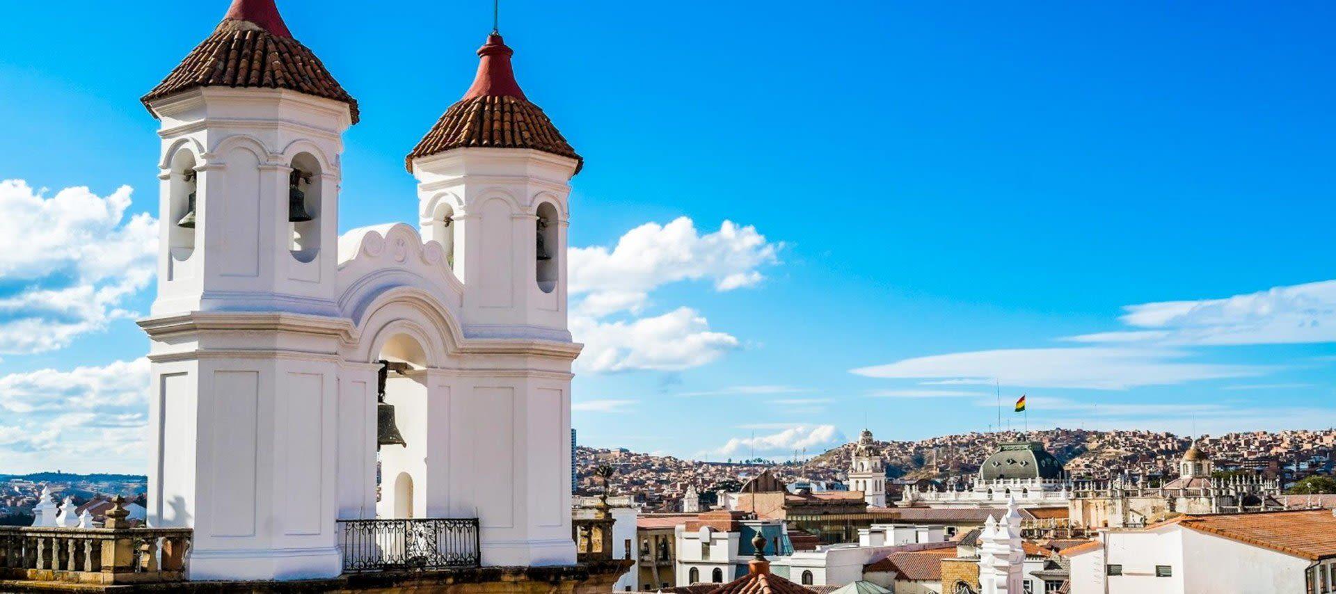 La Merced church in Sucre, Bolivia