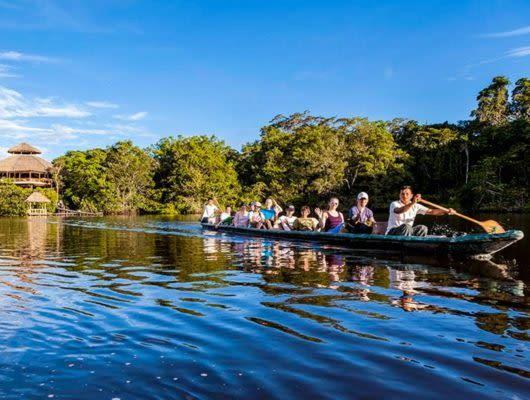 La Selva Amazon Lodge river tour