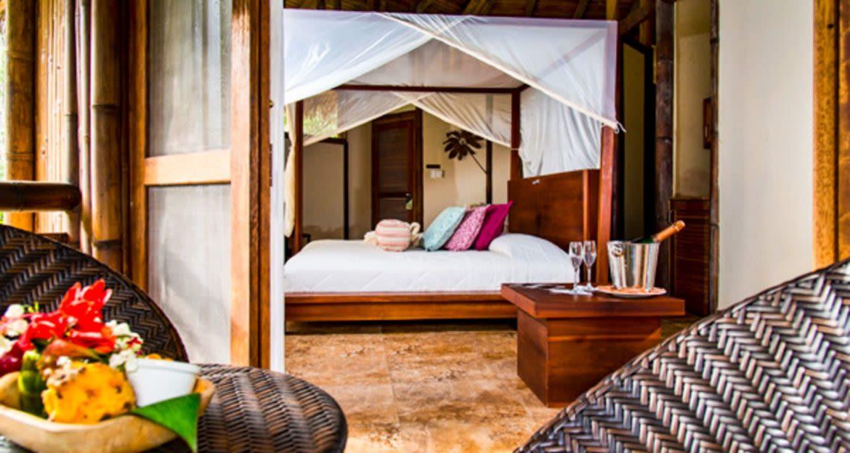 Interior of La Selva Amazon Lodge bedroom