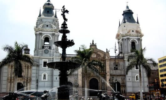 Cathedral in Lima, Peru