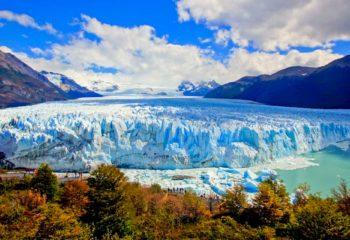 Perito Moreno Glacier in Argentine Patagonia, Los Glaciares National Park