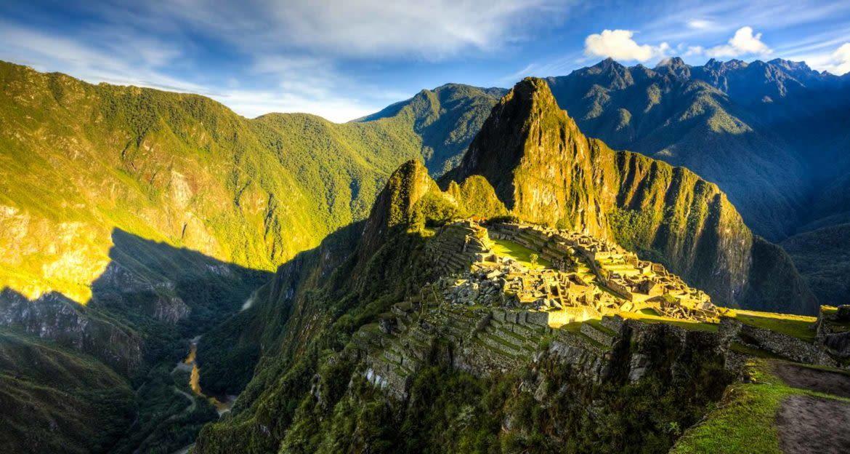 Sunrise of Machu Picchu