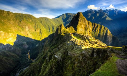 Sunrise of Machu Picchu