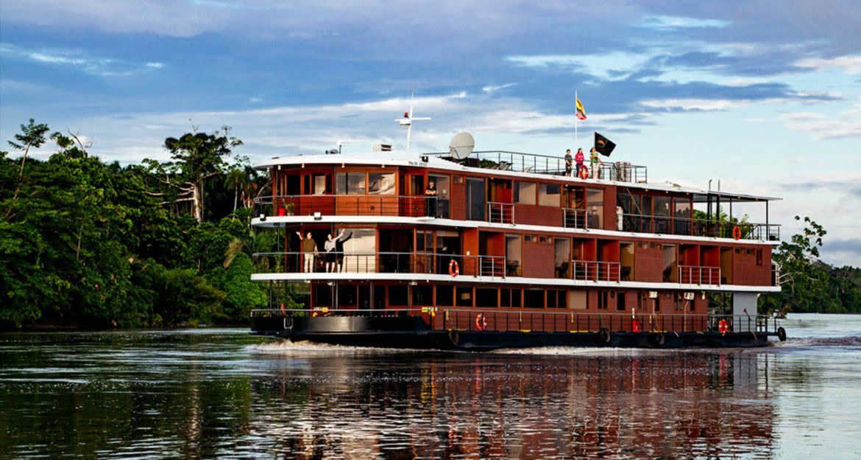 Manataee Amazon river cruise ship
