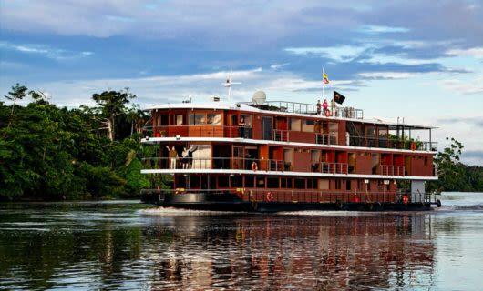 Manatee Amazon river cruise ship